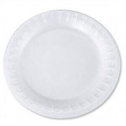"Picture of 6"" Styrofoam Plates"