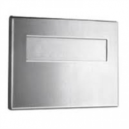 Picture of Satin Stainless Steel Toilet Seat Cover Dispenser
