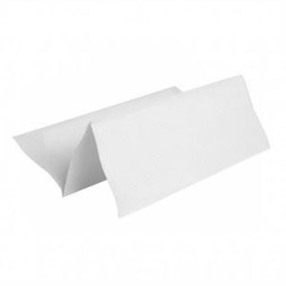 Picture of Soft White Multifold with Emboss - 9.05 x 9.25