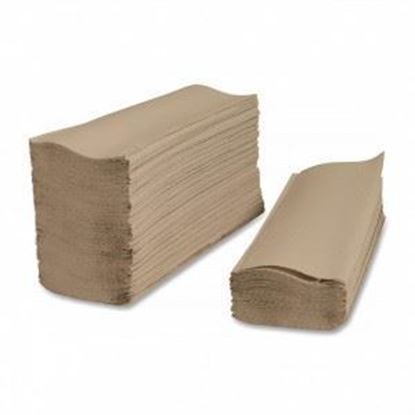 Picture of Brown Multifold Towels - 9.45 x 9.25