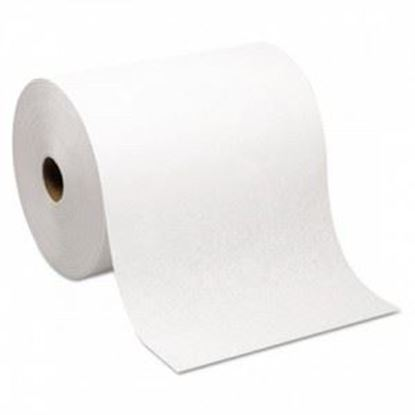 "Picture of Sunnycare 10"" White Hardwound Roll Towels"