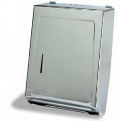 Picture of Stainless Steel Multifold Mounted Towel Dispenser