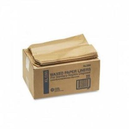 Picture of Kraft Paper Receptacle Liners