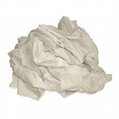 Picture of White Bleach Cotton Rags