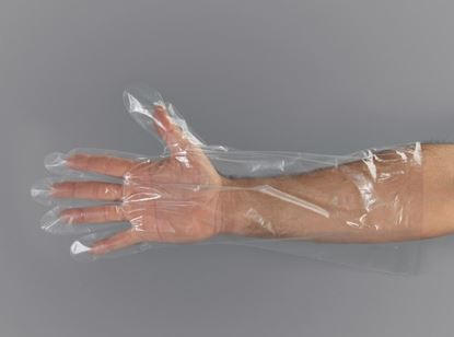 Picture of Low Density Embossed Elbow Length Glove