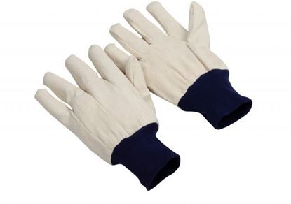 Picture of 8 oz Cotton Canvas Glove, Blue Knit Wrist