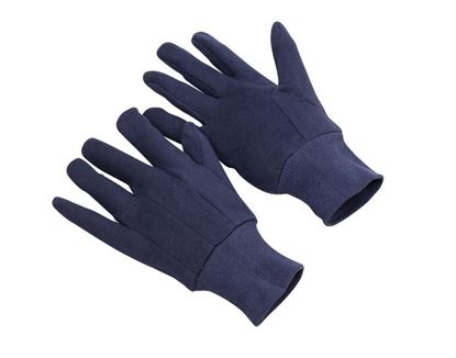 Picture of Heavyweight Blue Jersey Gloves - Large