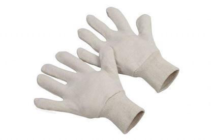 Picture of 7 oz White Jersey Gloves - Mens