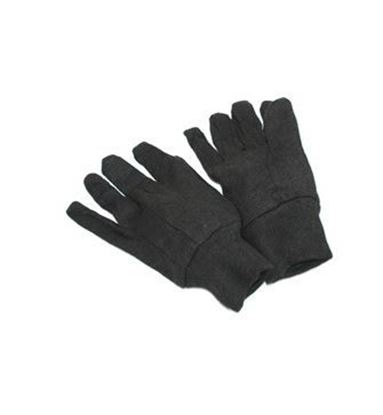 Picture of Brown Jersey Gloves - Mens