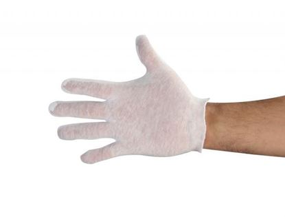 Picture of Cotton Lisle, Light Weight Unhemmed Glove Chinese Fabric