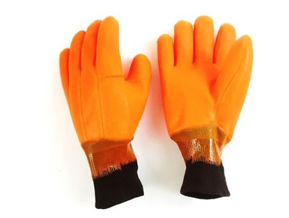 Picture of Fluorescent Orange Foam Lined Glove - Double Dipped
