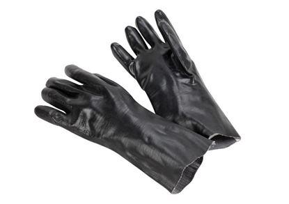 Picture of Black Dip Glove - 14 Inch Gauntlett Cuff Smooth Finish