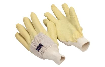 Picture of Palm Coated Rubber Gloves - Knit Wrist