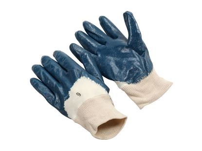Picture of Nitrile Palm Coated Gloves - Interlock Lined