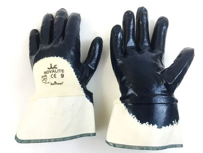 Picture of Nitrile Palm Coated Gloves - Safety Cuff