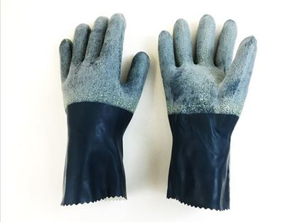Picture of Nitrile Rubber Gloves - Interlock Lined