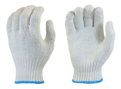 Picture of Bleach White Poly/Acrylic/Rayon Gloves