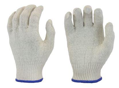 Picture of Cotton Polyester String Knit Gloves - Natural Color