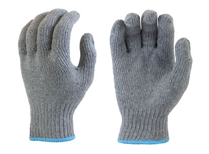 Picture of Grey Cotton/Poly String Knit Gloves
