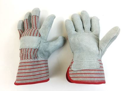 Picture of Ladies Palm Gloves with Starched Cuff - 2 1/2 Inch Gauntlet