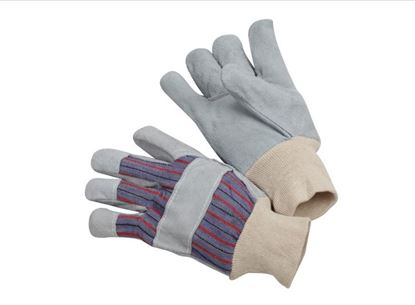Picture of Leather Palm Gloves - Knit Wrist Cunn Pattern