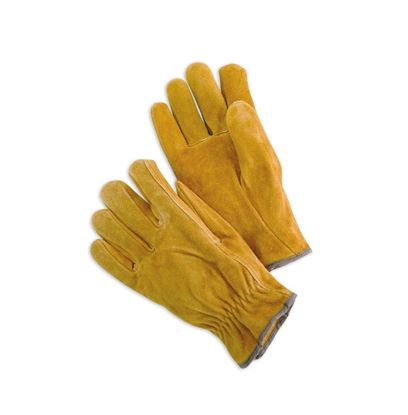 Picture of Unlined Split Leather Drivers Glove - Straight Thumb