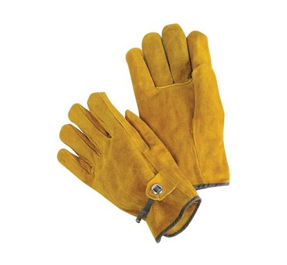 Picture of Russet Leather Driver Gloves - Ball and Tape Strap