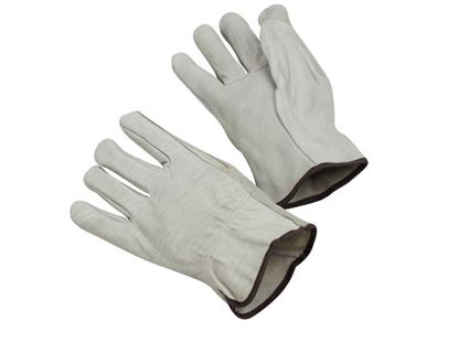 Picture of Economy Grade Cow Grain Leather Driver Gloves - Unlined Straight Thumb