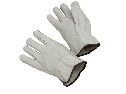 Picture of Cow Grain Leather Driver Gloves - Unlined Straight Thumb