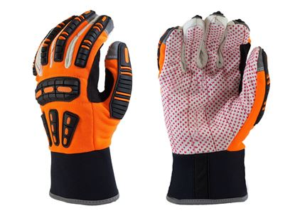 Picture of Cotton Palm Impact Mechanics Gloves