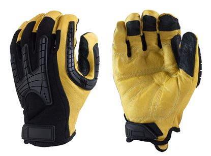 Picture of Pig Grain Leather Mechanics Glove - Reinforced Palm