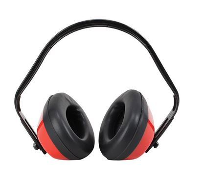 Picture of Ear Muffs with Red Ear Cups - NRR 20db