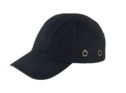 Picture of Black Baseball Style Bump Cap