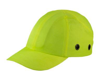 Picture of Hi-Viz Yellow Baseball Bump Cap