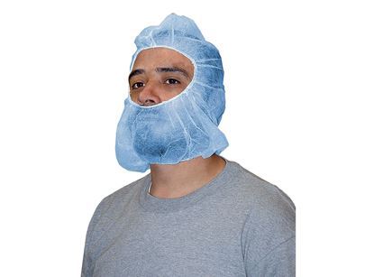 Picture of Beard and Hair Cover Combos - 21 Inches Blue