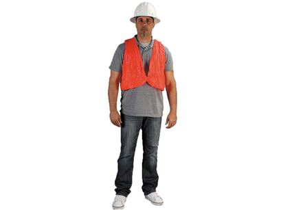 Picture of Orange Shield Safety Vest - Front String Tie