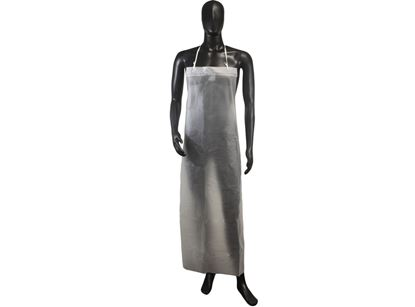 Picture of Clear Aprons with Adjustable Strings - 12 mil 35 x 50 Inches