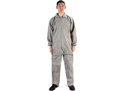 Picture of Grey SMS Coverall - Zipper Front