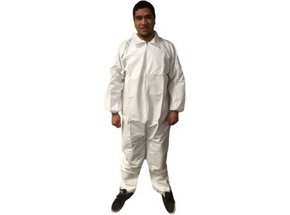 Picture of Microporous Coated Polypropylene Coveralls S - 2X