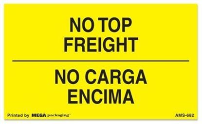 Picture of No Top Freight - No Carga Encima Printed Labels