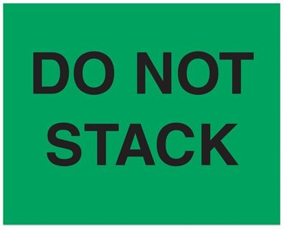 Picture of Do Not Stack - Printed Labels