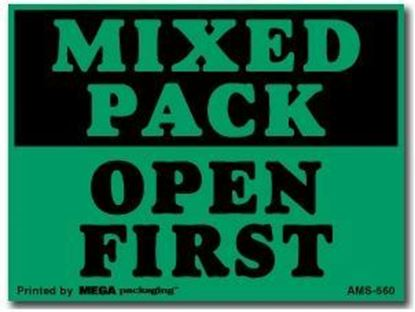 Picture of Mixed Pack - Printed Labels