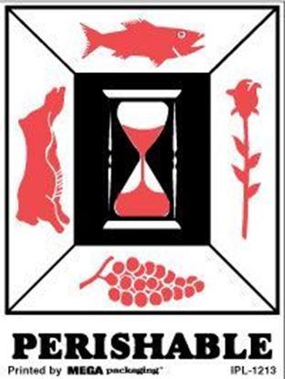 Picture of Perishable - Printed Label 3 x 4