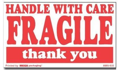Picture of Handle With Care Fragile Thank You