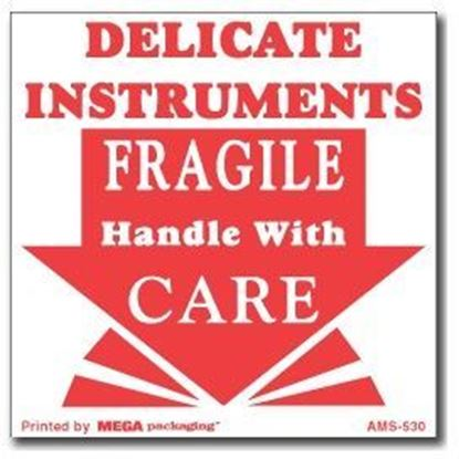 Picture of Delicate Instruments Fragile Handle With Care