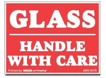 Picture of Glass Handle With Care