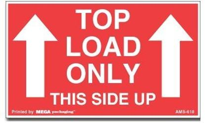 Picture of Top Load Only This Side Up