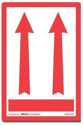 Picture of Two Arrows Up - Red