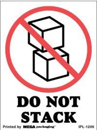 Picture of Do Not Stack 3 x 4