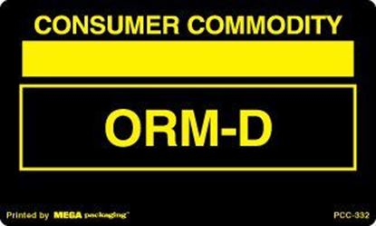 Picture of Consumer Commodity ORMD - Black and Yellow 3 x 5